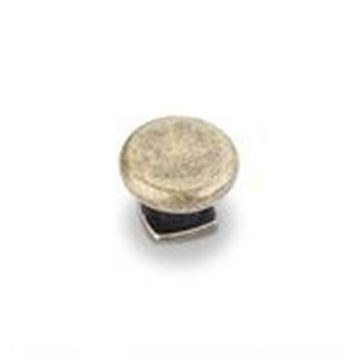 "Picture of  1-3/8"" Forged Look Flat Bottom Knob"