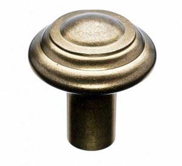 """Picture of 1 1/4"""" cc Aspen Button Knob"""