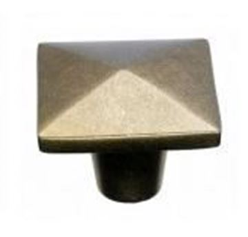 "Picture of 1 1/2"" Aspen Square Knob"