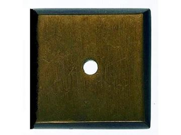 """Picture of 1 1/4"""" Square Aspen Back Plate"""