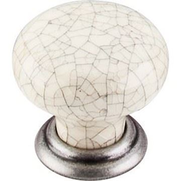 """Picture of 1 3/8"""" Bone Crackle Large Knob"""