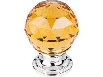Picture of Amber Crystal Knob (TK111PC)