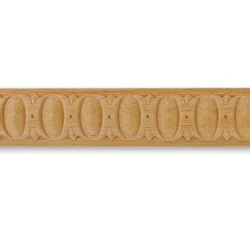 """Picture of 1 1/4"""" W x 1/2"""" THK Architectural carved Moulding"""