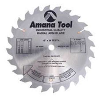 """Picture of 10"""" Carbide Tipped Radial Arm Saw Blade"""