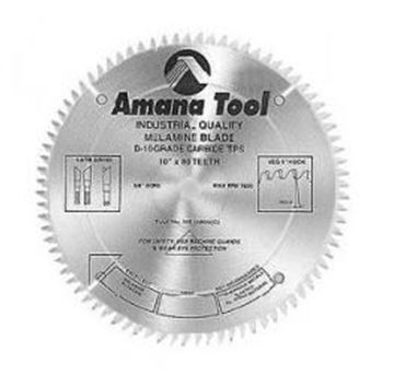 """Picture of 10"""" Carbide Tipped Double-Face Melamine Saw Blades"""