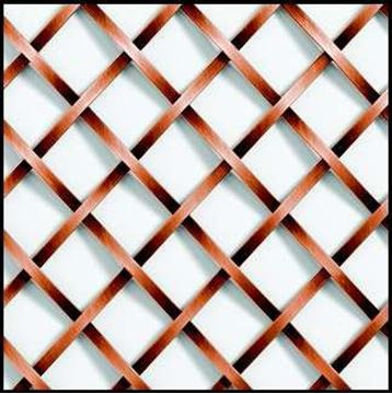 "Picture of 18"" X 48"" Single Crimp Wire Mesh Grille"