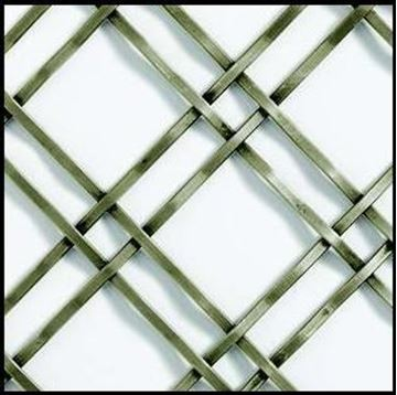 "Picture of 18""X 48"" Wire Mesh Grille"