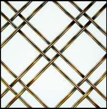 "Picture of 18""X 48"" Double Crimp Wire Mesh Grille"