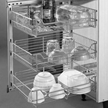 Picture of Side Mounted Pull-out Organizer (FA 120-B)