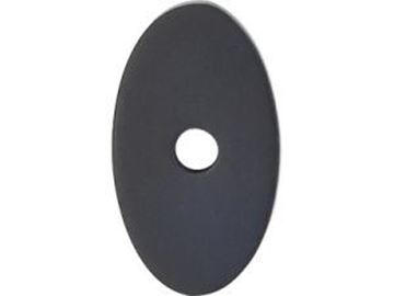 """Picture of 1 1/4"""" Small Oval Back plate"""