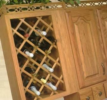 Picture of Deluxe Wine Racks Hickory (L3320HUF9)
