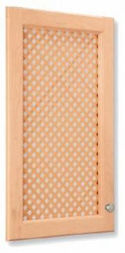 Picture of Mini Diagonal Lattice Door Insert Birch (LATDS2448BI)