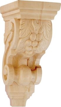 Picture of Corbel Hard Whitewood (1007WW)